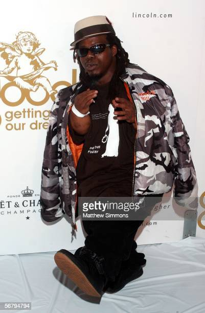 Rapper Bushwick Bill arrives at the GOOD Music Heavenly Grammy After Party held at The Lot Studios on February 8 2006 in Los Angeles California