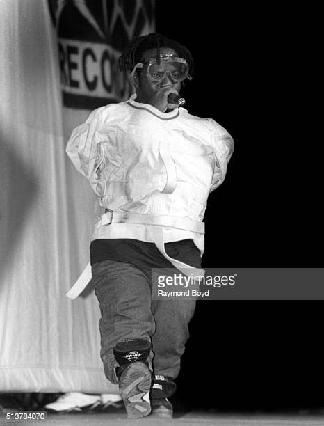 Rapper Bushwick Bill from The Geto Boys performs at the New Regal Theater in Chicago Illinois in July 1992