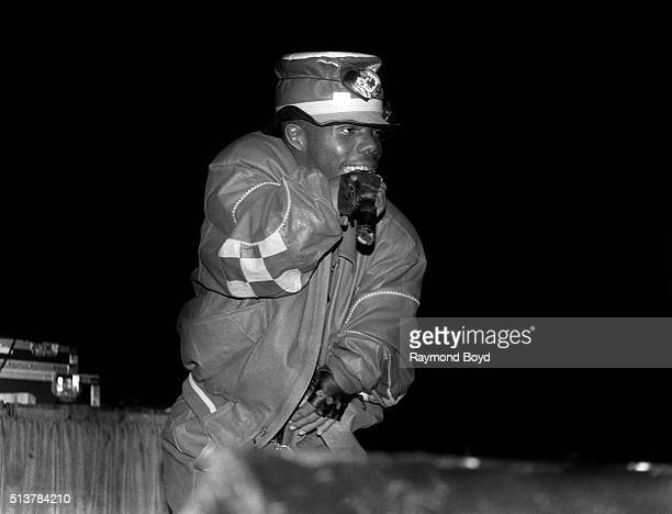 Rapper Bushwick Bill from The Geto Boys performs at the New Regal Theater in Chicago Illinois in October 1991