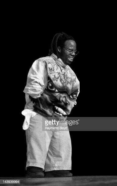Rapper Bushwick Bill of The Geto Boys performs at the Regal Theater in Chicago Illinois in AUGUST 1995