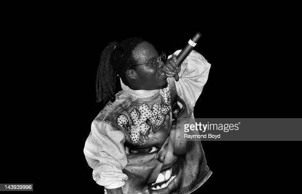 Rapper Bushwick Bill performs at the Regal Theater in Chicago Illinois in August 1995