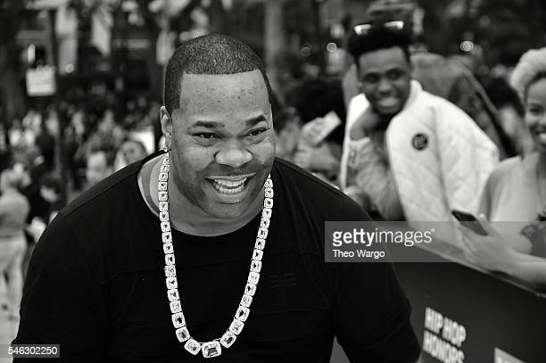 Rapper Busta Rhymes attends the VH1 Hip Hop Honors All Hail The Queens at David Geffen Hall on July 11 2016 in New York City