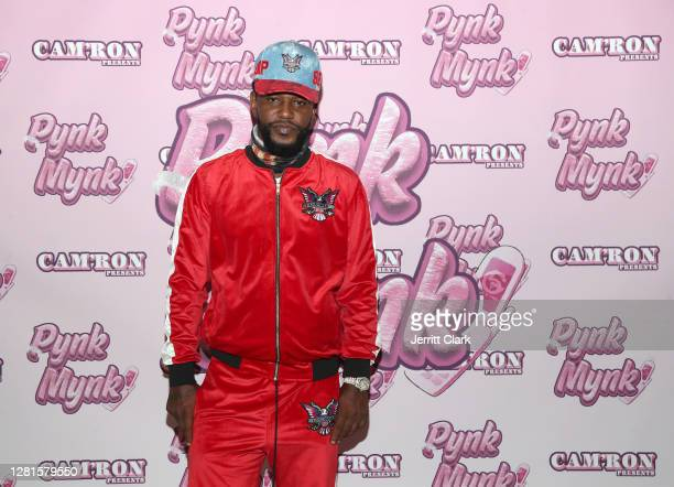 Rapper Cam'ron attends Cam'ron's Pynk Mynk Unveiling at Strains on October 21, 2020 in Perris, California.
