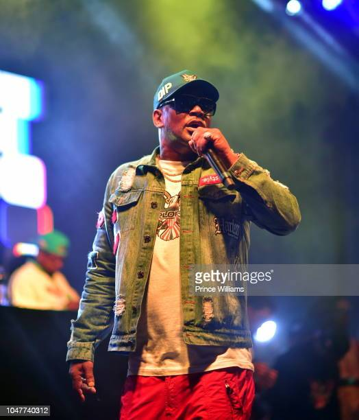 Rapper Cam'ron of Dipset performs at A3C Festival at Georgia Freight Depot on October 7, 2018 in Atlanta, Georgia.