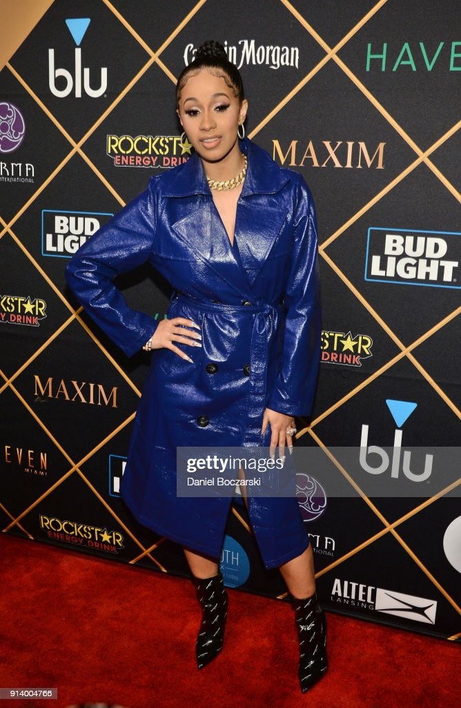 2018 Maxim Party Co-Sponsored By blu