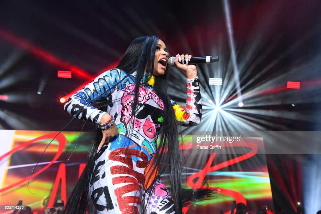Cardi B received two nominations - Best Rap Performance, Best Rap Song