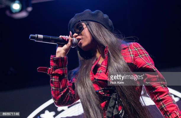 Rapper Cardi B performs onstage during Day for Night festival on December 16 2017 in Houston Texas