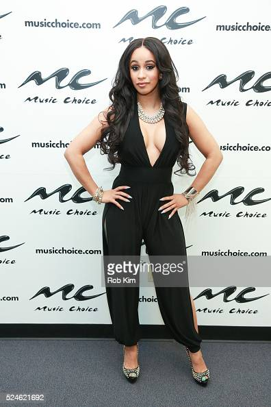 Bronx Cardi B: Rapper Cardi B Visits Music Choice On April 26, 2016 In