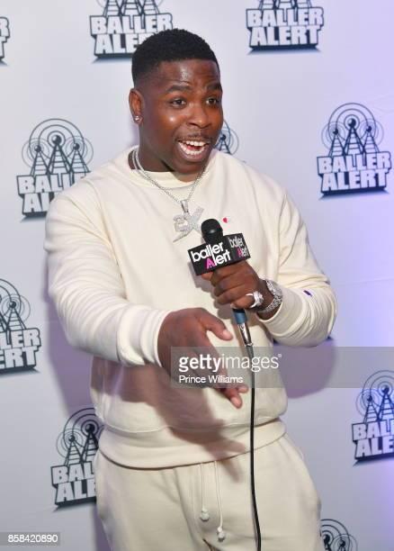 Rapper Casanova attends Baller Alert's Bowl With a Baller at Basement Bowl on October 5 2017 in Miami Florida