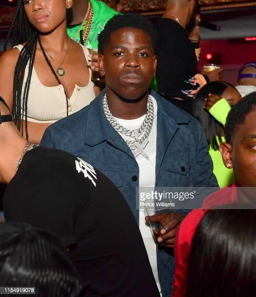 Rapper Casanova attends Compound 15 Year Anniversary Celebration at Compound on June 9 2019 in Atlanta Georgia