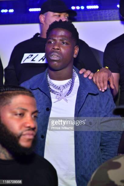 Rapper Casanova attends Dave East Casanova Host Gold Room on June 9 2019 in Atlanta Georgia