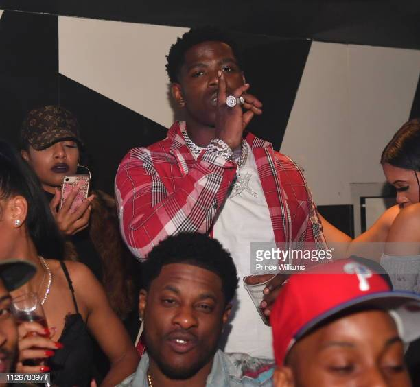 Rapper Casanova attends the Official Big Game Kick Off Weekend Hosted by Lil BabayGunna at Gold Room on February 1 2019 in Atlanta Georgia