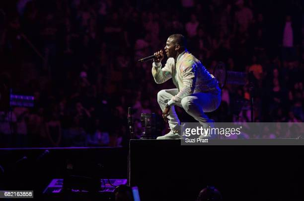 Rapper Casanova performs at Key Arena on May 11 2017 in Seattle Washington