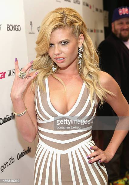 Rapper Chanel West Coast attends Star Magazine Hollywood Rocks 2014 at SupperClub Los Angeles on April 23 2014 in Los Angeles California