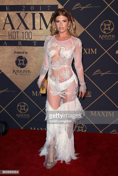Rapper Chanel West Coast attends the 2017 MAXIM Hot 100 Party at the Hollywood Palladium on June 24 2017 in Los Angeles California