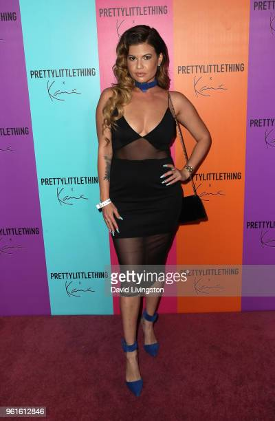 Rapper Chanel West Coast attends the PrettyLittleThing x Karl Kani event at Nightingale Plaza on May 22 2018 in Los Angeles California
