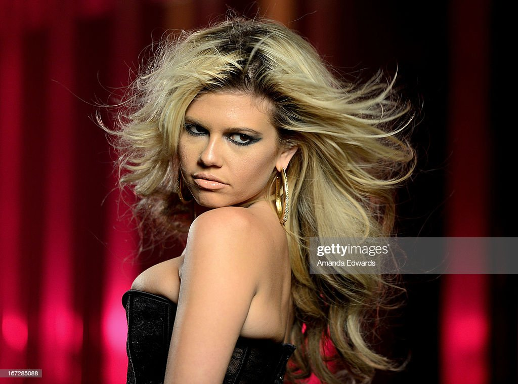 Rapper Chanel West Coast shoots the music video for her new single 'Karl Lagerfeld' on April 23, 2013 in Los Angeles, California.