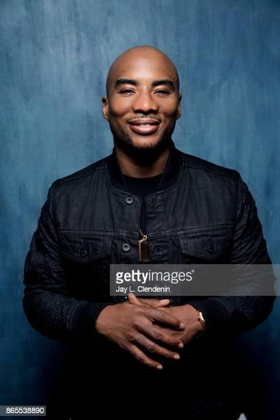 Rapper Charlamagne tha God from the film Bodied poses for a portrait at the 2017 Toronto International Film Festival for Los Angeles Times on...