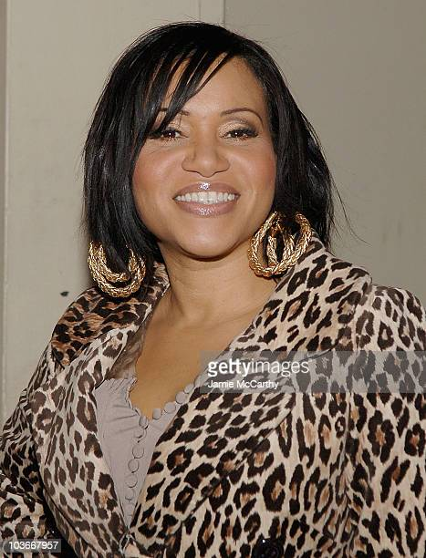 Rapper Cheryl Salt James of SaltNPepa arrives at the Broadway opening night of Passing Strange on February 28 2008 at the Belasco Theatre in New York