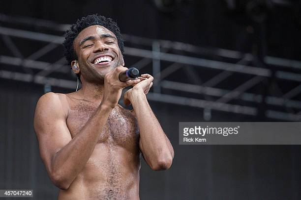 Rapper Childish Gambino aka Donald Glover performs on stage during weekend two day one of Austin City Limits Music Festival at Zilker Park on October...