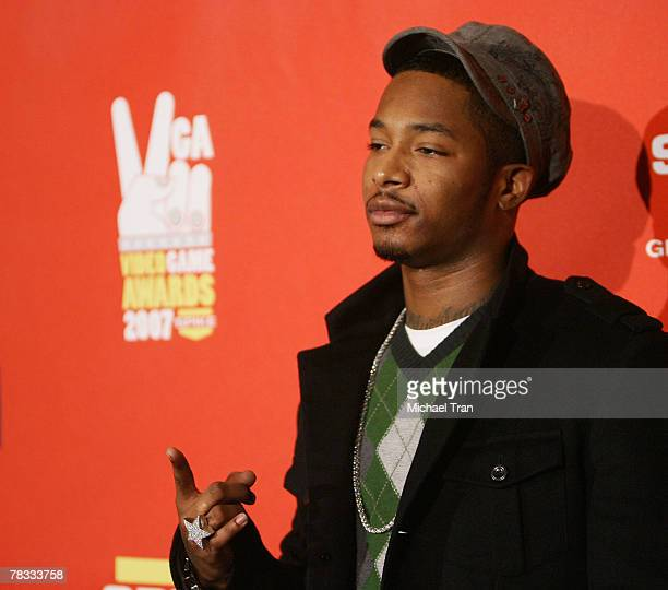 Rapper Chingy arrives at Spike TV's 5th Annual Video Game Awards held at Mandalay Bay Events Center on December 7 2007 in Las Vegas Nevada