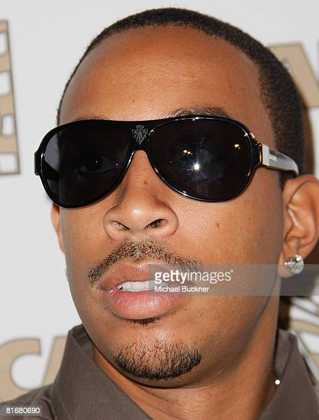 Rapper Chris Ludacris Bridges arrives at the 21st Annual Rhythm Soul Music Awards at the Beverly Hilton Hotel on June 23 2008 in Beverly Hills...