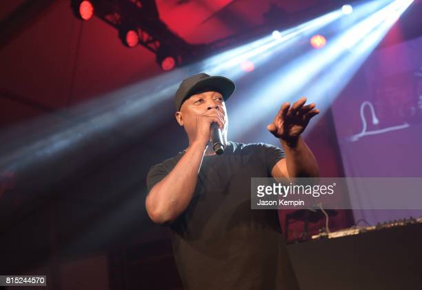 Rapper Chuck D performs on stage during 'Midnight At The Oasis' Annual Art For Life Benefit hosted by Russell Simmons' Rush Philanthropic Arts...