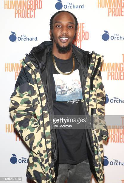 Rapper CJ Fly attends the The Hummingbird Project New York screening at Metrograph on March 11 2019 in New York City