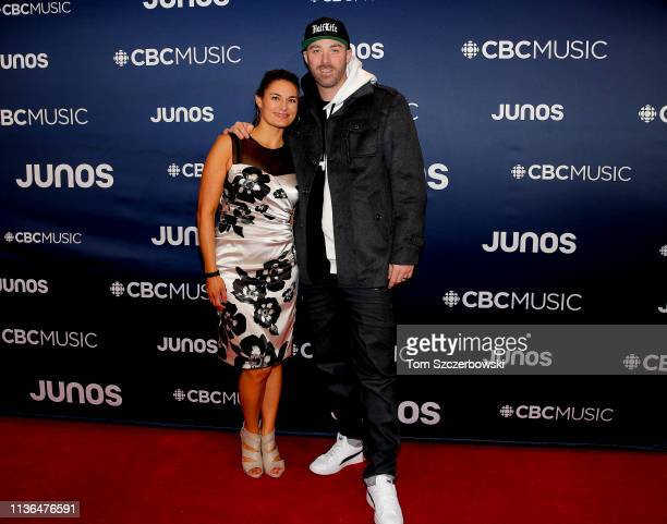 Rapper Classified attends the 2019 Juno Awards Arrivals at Budweiser Gardens on March 17 2019 in London Canada