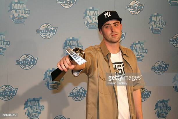 Rapper Classified attends the MuchMusic Video Awards on June 21 2009 in Toronto Canada
