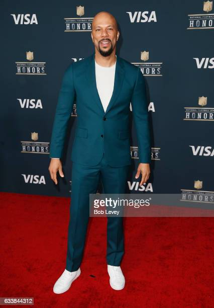 Rapper Common attends 6th Annual NFL Honors at Wortham Theater Center on February 4 2017 in Houston Texas
