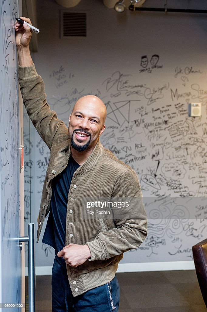 Rapper Common discusses 'The 13th' with The Build Series at AOL HQ on December 15, 2016 in New York City.