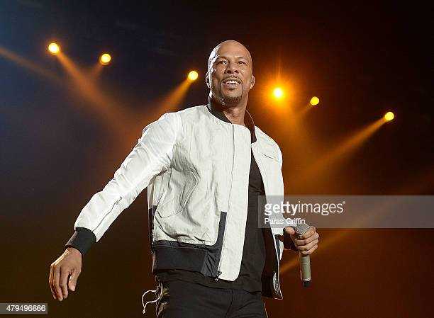 Rapper Common performs onstage at the 2015 Essence Music Festival on July 4 2015 at MercedesBenz Superdome in New Orleans Louisiana