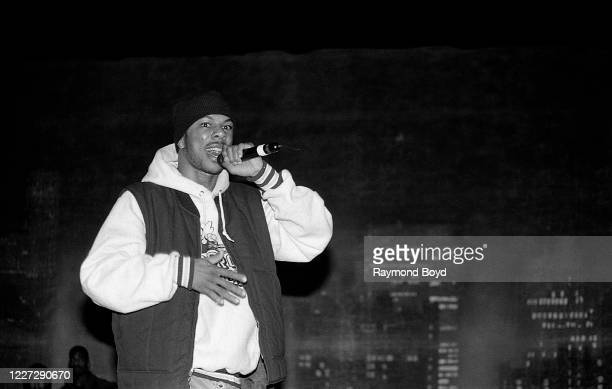 Rapper Common Sense performs at the Regal Theater in Chicago, Illinois in November 1992.