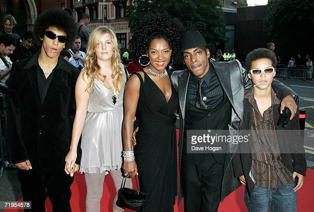 Rapper Coolio his wife Josefa Salinas and their guests arrive at the MOBO Awards 2006 at The Royal Albert Hall on September 20 2006 in London England