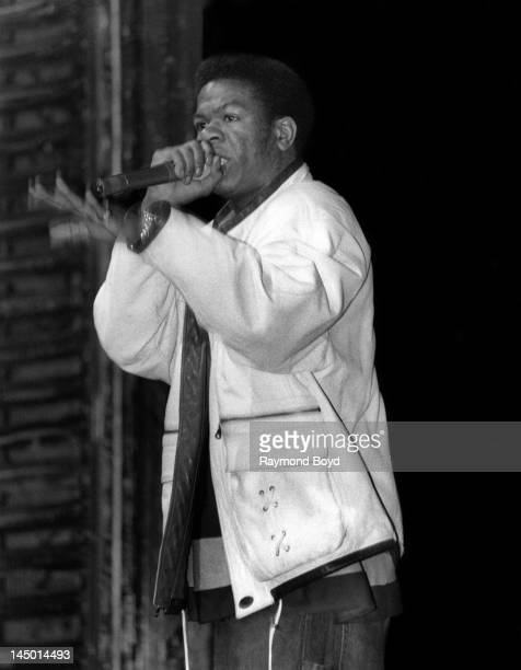 Rapper Craig Mack performs at the Riviera Theater in Chicago Illinois in SEPTEMBER 1994