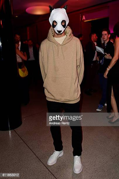 Rapper Cro attends the Award Night after party during the 12th Zurich Film Festival on October 1 2016 in Zurich Switzerland The Zurich Film Festival...