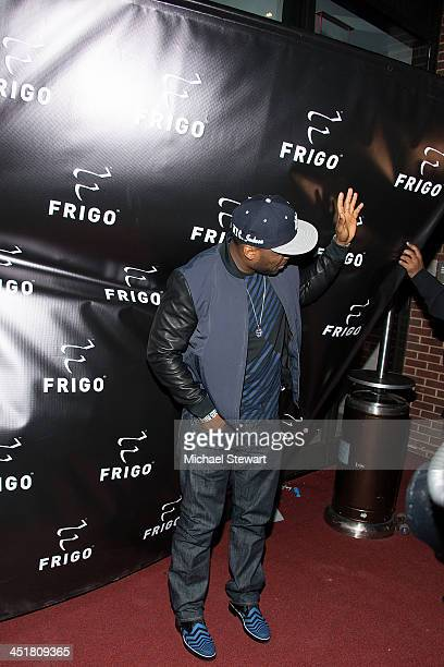 Rapper Curtis '50 Cent' Jackson attends the Frigo Launch VIP Night at the Frigo PopUp Store on November 24 2013 in New York City