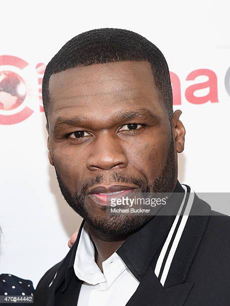 Rapper Curtis '50 Cent' Jackson III attends 20th Century Fox Invites You to a Special Presentation Highlighting Its Future Release Schedule at The...