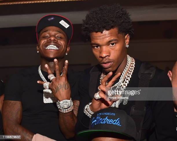 Rapper DaBaby and Lil Baby attend the Official Birthday Bash after Party at Compound on June 16 2019 in Atlanta Georgia