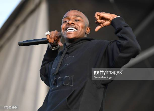 Rapper DaBaby performs at the 2019 Rolling Loud Music Festival on Day 2 at OaklandAlameda County Coliseum on September 29 2019 in Oakland California