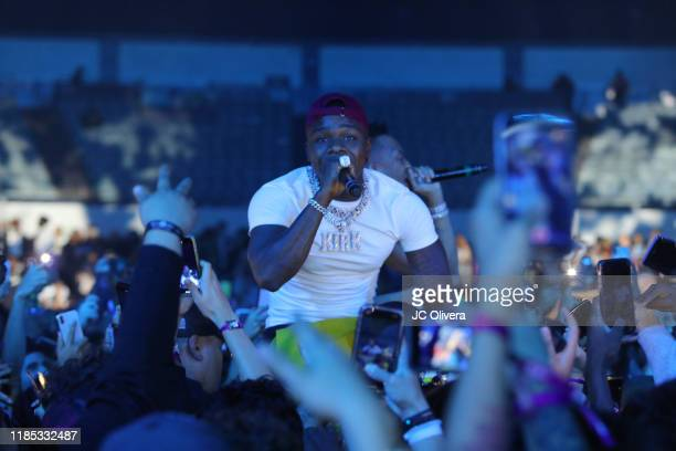 Rapper DaBaby performs onstage during ComplexCon Long Beach Day 2 at Long Beach Convention Center on November 03 2019 in Long Beach California
