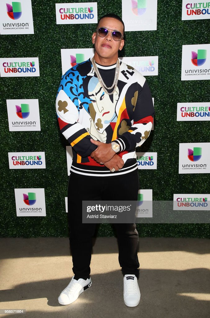 Rapper Daddy Yankee attends the 2018 Univision Upfront at Spring Studios on May 14, 2018 in New York City.