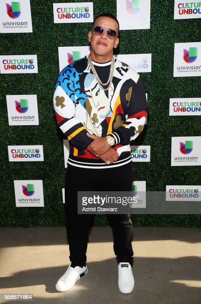 Rapper Daddy Yankee attends the 2018 Univision Upfront at Spring Studios on May 14 2018 in New York City