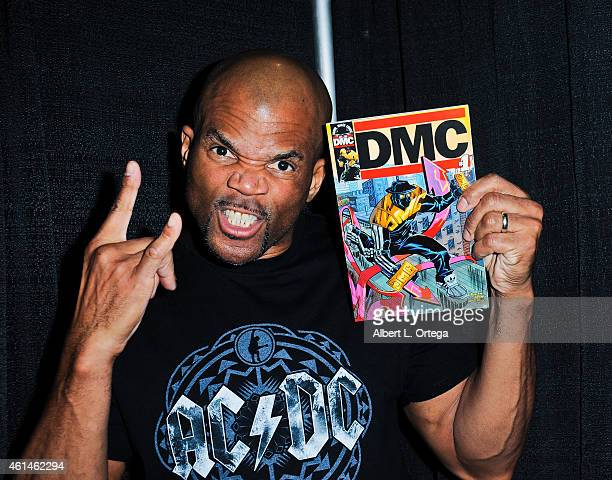 Rapper Darryl Matthews McDaniels KA DMC debuts his comic on Day 2 of the Third Annual Stan Lee's Comikaze Expo held at Los Angeles Convention Center...