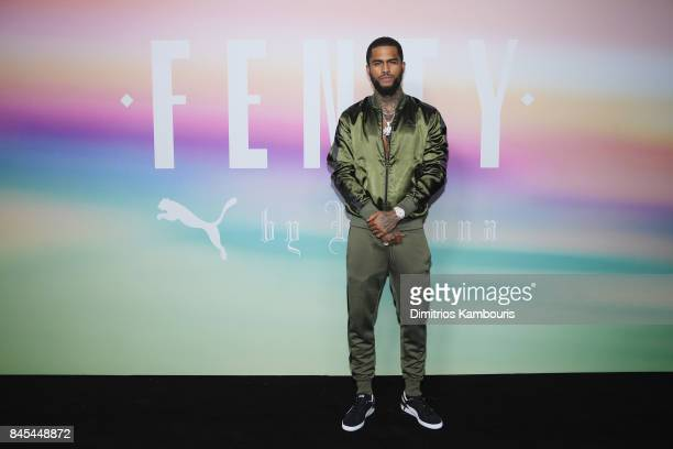 Rapper Dave East attends the FENTY PUMA by Rihanna Spring/Summer 2018 Collection at Park Avenue Armory on September 10 2017 in New York City