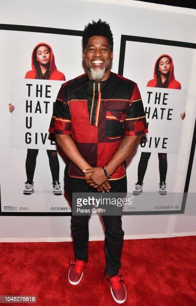 Rapper David Banner attends The Hate U Give Atlanta Red Carpet Screening at Regal Atlantic Station on October 3 2018 in Atlanta Georgia