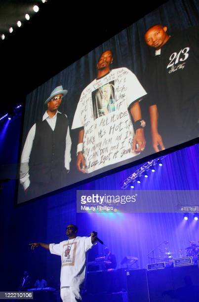 Rapper Daz Dillinger performs onstage during the 11th Annual BMI Urban Awards held at the Pantages Theatre on August 26 2011 in Hollywood California