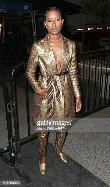 Rapper Dej Loaf attends the 2016 BET Awards Backstage on June 26 2016 in Los Angeles California