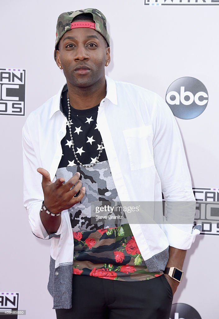 Rapper DeStorm Power attends the 2014 American Music Awards at Nokia Theatre L.A. Live on November 23, 2014 in Los Angeles, California.
